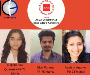 acca course in india